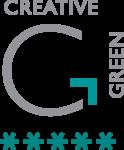 Julie's Bicycle Creative Green Logo - 5 stars